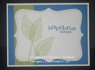 Happiness Always Card 1