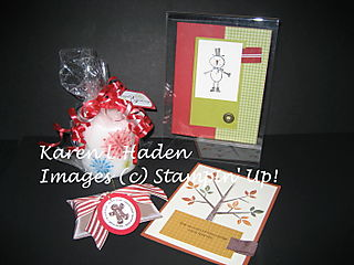 October Stamping Party Projects