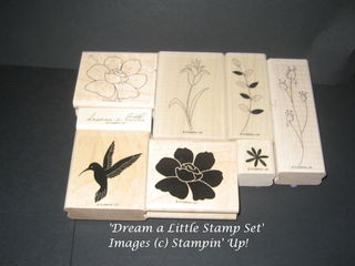 Dream a Little Hostess Stamp Set