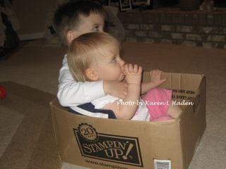 Max and Emma in SU Box