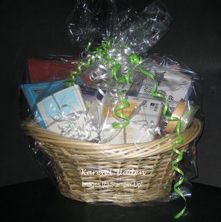 Club SIgn Up Gift Basket