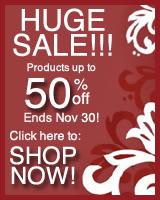 Holiday Extravaganza Sale