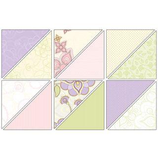 Shades of Spring Designer Paper