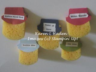 Sponge Labels