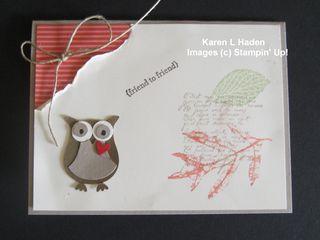 French Foliage Friend to Friend Card