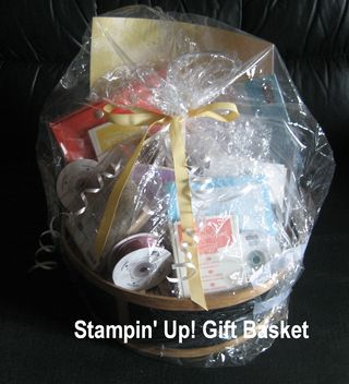Stampin Up Gift Basket