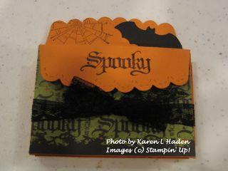 Halloween Scallop Envelop  by Sue Duffy
