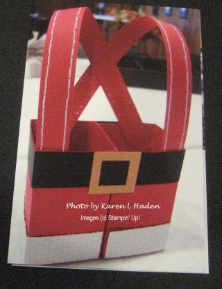 Santa Box Front