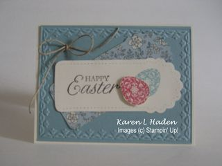 Easter Blossoms Card 2