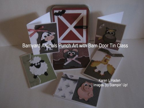 Barnyard Animals Class