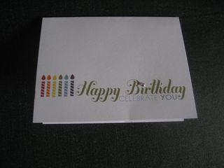 SU Birthday Card Closed