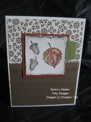 Textured Window Sheet Card