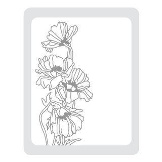 Flower Garden Embossing Folder 2011 Summer Mini