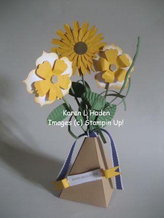 Vase of Flowers Centerpiece