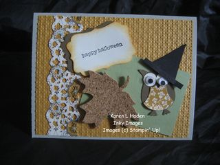 Spice Cake Owl Card