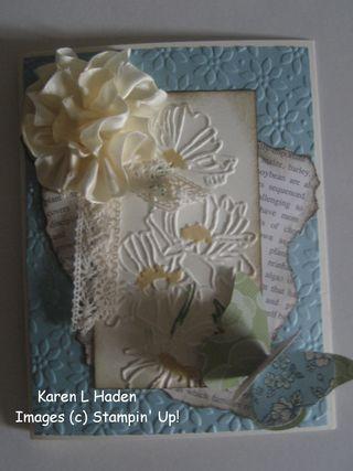 Flower Garden Card