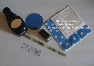 Napkin Party Favor Dress 1