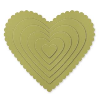 Hearts Collectin Framelits Dies