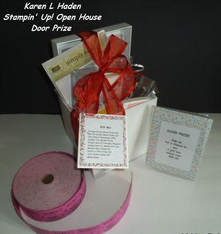 SU Open House Door Prize