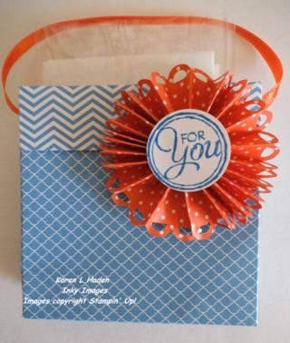 Designer Paper Card Holder