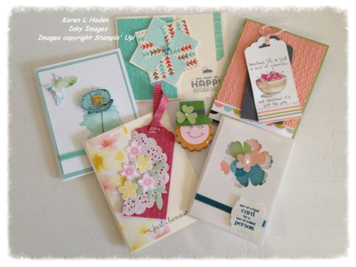Feb Stamp Camp Projects