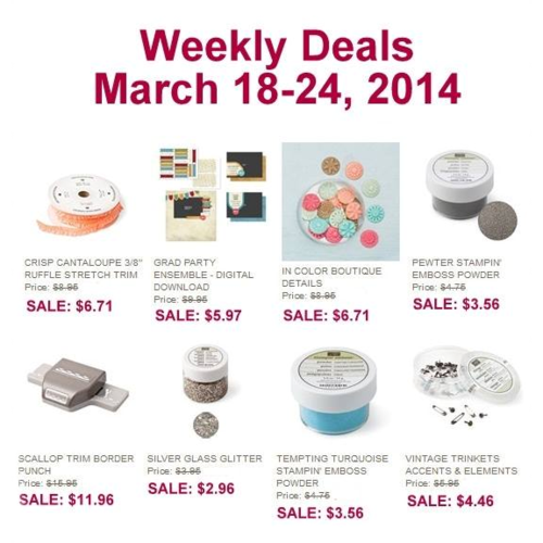 Weekly Deals March 19