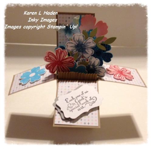 Card in a Box Open