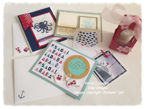 2014 June Stamp Camp Projects