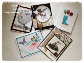 2014 August Stamp Camp Projects