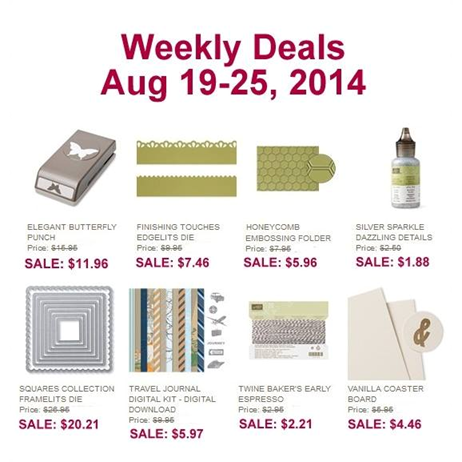 Weekly Deals Aug 19