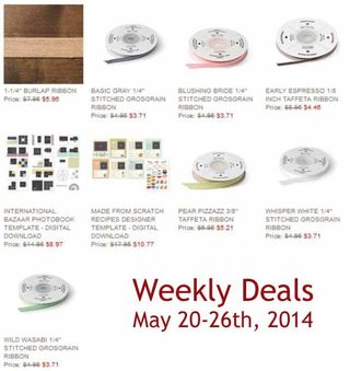 Weekly Deals May 20th