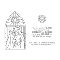 Gentle Peace Photopolymer Stamp