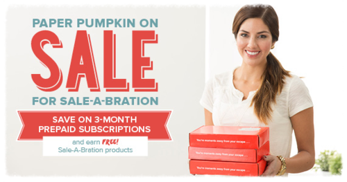 Paper Pumpkin Saleabration Sale