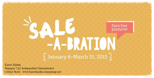 2015 Sale-A-Bration Header with Hyperlink