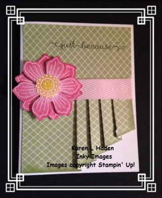 Curtain Fold Card