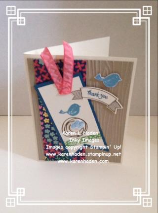 Bird Tag Card