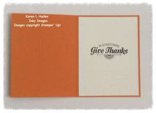 Thanksgiving Card Inside