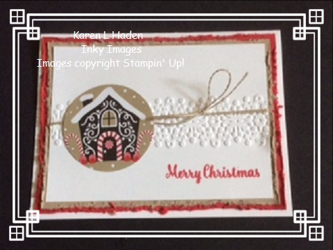 Christmas Cottage Card