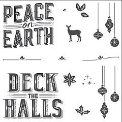The Carols of Christmas Stamp Set