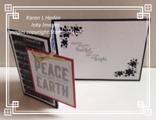 Peace on Earth Z-Fold Card