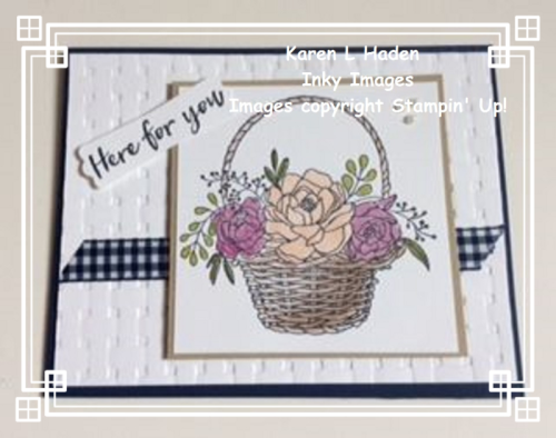 Blossoming Basket Card