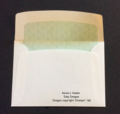 Sympathy Card Envelope