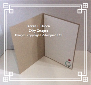 Frog Card Inside
