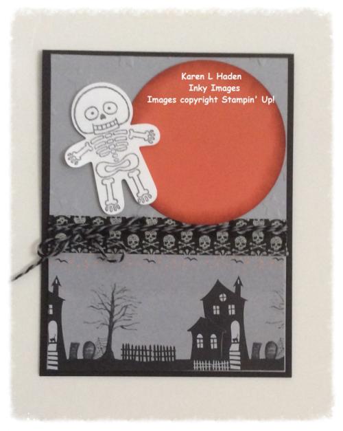 Skeleton Card Closed