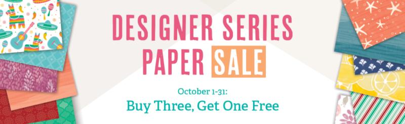Designer Paper Banner