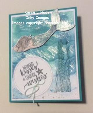 Emma's Birthday Card Magial Mermaid