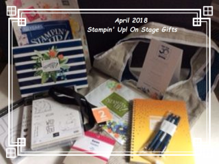 Gift Bag and Gifts from Stampin Up