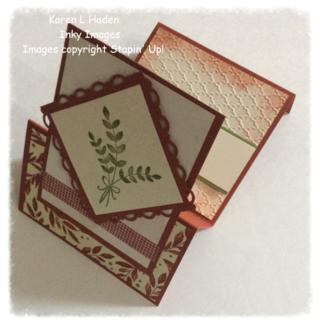Z-Fold Card open