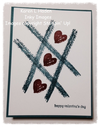 Valentine Work of Art Card