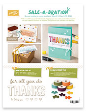 New Sale-a-bration Product